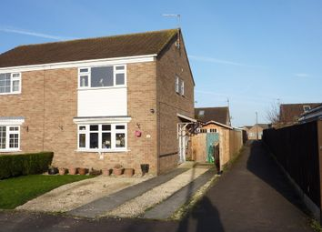 Thumbnail 3 bed semi-detached house for sale in Dozule Close, Leonard Stanley, Stonehouse