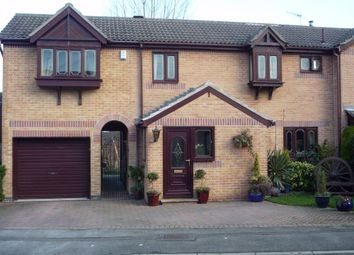 Thumbnail 4 bed semi-detached house to rent in Meadowcroft Close, Whiston, Rotherham, South Yorkshire