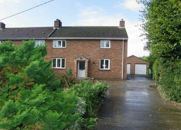 Thumbnail 3 bed semi-detached house to rent in New Road, Shouldham, King's Lynn