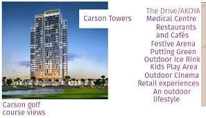 Thumbnail Studio for sale in Carson Residential Apartments, Akoya (Damac Hills), Dubai