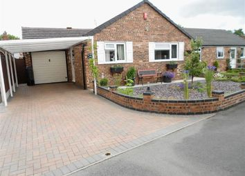 Thumbnail 2 bed detached bungalow for sale in Stamp Close, Crewe, Cheshire