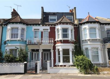 Thumbnail 1 bed flat to rent in Margravine Gardens, London