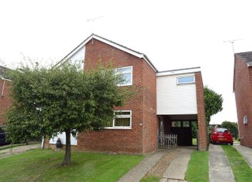 Thumbnail 3 bedroom semi-detached house for sale in Foxglove Avenue, Needham Market, Ipswich