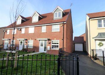 Thumbnail 3 bed end terrace house for sale in Pevensey Place Kingsway, Quedgeley, Gloucester