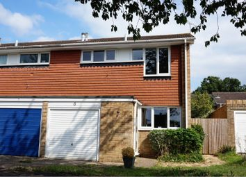 Thumbnail 3 bed end terrace house for sale in Croft Close, Wokingham
