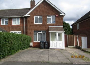 Thumbnail 2 bed property to rent in Sundridge Road, Great Barr, Birmingham
