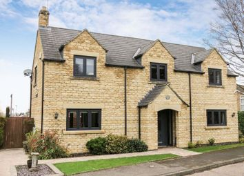 Thumbnail 4 bed detached house for sale in High Street, Castor, Peterborough