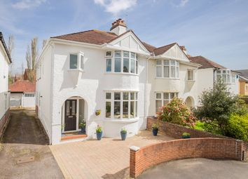 Thumbnail 4 bed semi-detached house for sale in Buckerell Avenue, St. Leonards, Exeter