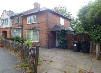 Thumbnail 3 bed terraced house to rent in Porlock Crescent, Northfield, Birmingham