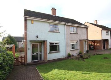 Thumbnail 2 bed semi-detached house for sale in Friars Terrace, Penrith, Cumbria