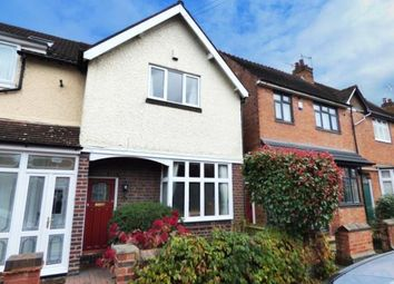 Thumbnail 3 bedroom end terrace house for sale in Gaddesby Road, Birmingham, West Midlands