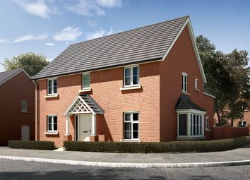 "Thumbnail 4 bedroom detached house for sale in ""The Clarence"" at Radwinter Road, Saffron Walden, Essex, Saffron Walden"
