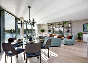Thumbnail 2 bed flat for sale in Fulham Reach, Distillery Wharf, Parr's Way, Hammersmith