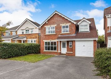 Thumbnail 5 bed detached house to rent in Furzedown Close, Egham