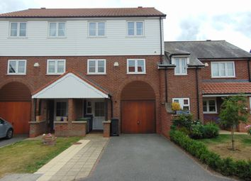Thumbnail 4 bed town house to rent in Marine Approach, Burton Waters, Lincoln