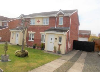 Thumbnail 3 bed semi-detached house for sale in Berryhill Crescent, Wishaw