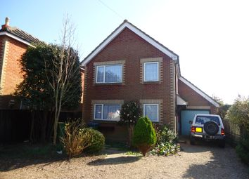 Thumbnail 3 bed detached house to rent in Swanwick Lane, Lower Swanwick, Southampton