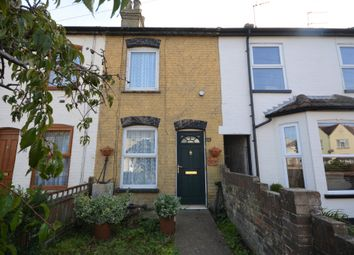 Thumbnail 2 bedroom terraced house for sale in Carlton Road, Lowestoft