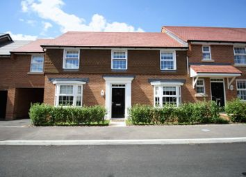 Thumbnail 4 bedroom terraced house for sale in Agincourt Drive, Sarisbury Green, Southampton