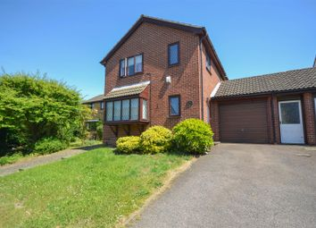 Thumbnail 4 bed link-detached house for sale in Blakeney Close, Norwich