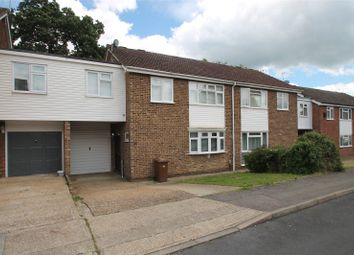 Thumbnail 4 bed semi-detached house for sale in Jacklin Close, Walderslade Woods, Chatham, Kent