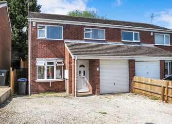 Thumbnail 3 bed semi-detached house for sale in Northleigh Way, Earl Shilton, Leicester