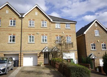 Thumbnail 4 bed terraced house to rent in Montague Hall Place, Bushey, Hertfordshire