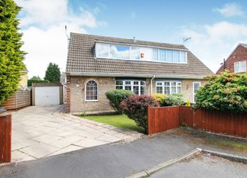 Thumbnail 2 bed semi-detached house for sale in Alder Grove, Moorends, Doncaster