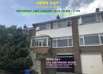 Thumbnail 3 bed semi-detached house for sale in Haymoor Road, Oakdale, Poole