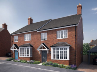 Thumbnail 3 bed semi-detached house for sale in The Glen, Church View, Recreation Ground Road, Tenterden, Kent