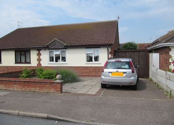 Thumbnail 2 bed semi-detached bungalow for sale in Mill Lane, Bradwell, Great Yarmouth