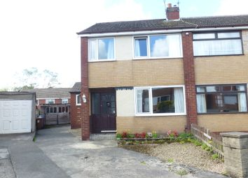 Thumbnail 3 bed semi-detached house for sale in Langholm Close, Leyland