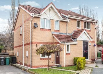 Thumbnail 2 bed semi-detached house for sale in Marsland Court, Cleckheaton