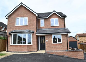 Thumbnail 4 bedroom detached house for sale in Sage Drive, Woodville, Swadlincote
