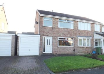 Thumbnail 3 bed semi-detached house for sale in Strathaven Drive, Eaglescliffe, Stockton-On-Tees