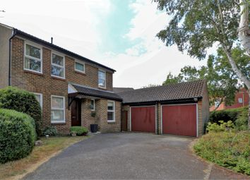 Thumbnail 4 bed detached house for sale in Alford Close, Burpham, Guildford