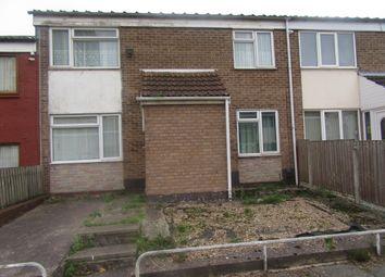 Thumbnail 3 bed terraced house for sale in Lount Walk, Aston, Birmingham
