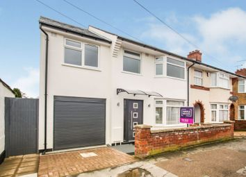 Thumbnail 4 bed semi-detached house for sale in Olma Road, Dunstable