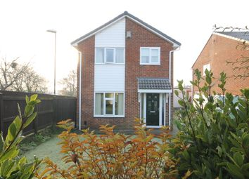 Thumbnail 3 bed detached house for sale in Morpeth Close, Washington
