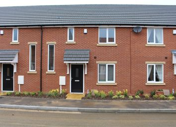 Thumbnail 2 bed terraced house to rent in Windsor Way, Broughton Astley, Leicester