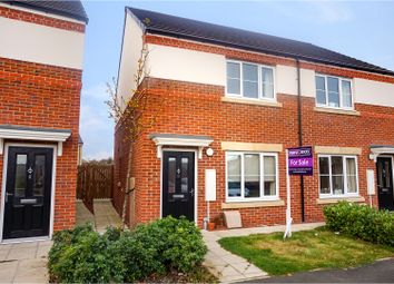 Thumbnail 2 bed semi-detached house for sale in Lapwing Drive, Darlington