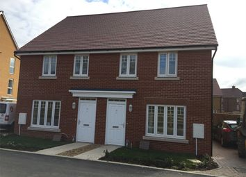 Thumbnail 3 bed semi-detached house for sale in Siding Road, Broughton, Aylesbury, Buckinghamshire