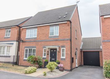 Thumbnail 3 bed detached house for sale in Clarke Crescent, Countesthorpe