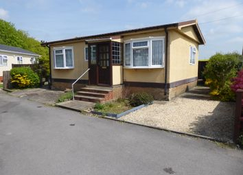 Thumbnail 1 bed mobile/park home for sale in Harewood Park, Andover Down, Andover, Hampshire, 6Lh