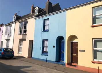 Thumbnail 3 bed terraced house for sale in Little Frogmore, Lower Frog Street, Tenby, Pembrokeshire