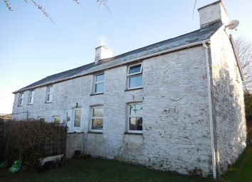 Thumbnail 4 bed detached house for sale in Bethania, Llanon