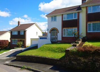 Thumbnail 3 bed semi-detached house to rent in Berrycoombe Hill, Bodmin