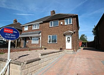 Thumbnail 3 bed semi-detached house for sale in Arnold Grove, Newcastle-Under-Lyme