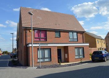 Thumbnail 4 bed detached house for sale in Bumpstead Mead, Aveley, South Ockendon
