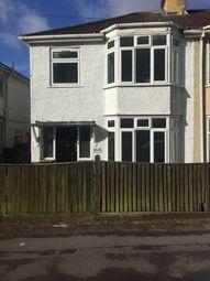 Thumbnail 3 bed semi-detached house for sale in Bursledon Road, Southampton